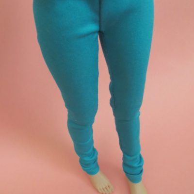 Teal Pants for BJD
