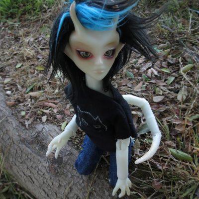 Teenygoyle Arin Ball Jointed Doll