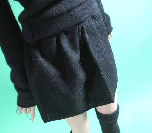 Black Skirt for Ball Jointed Doll