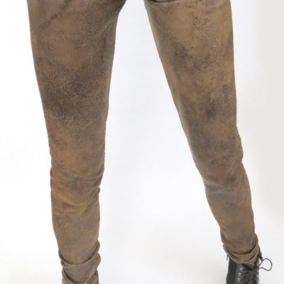Ball Jointed Doll Distressed Brown Pants