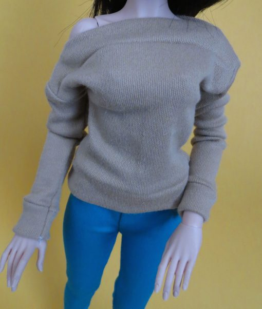 Taupe Shirt for BJD